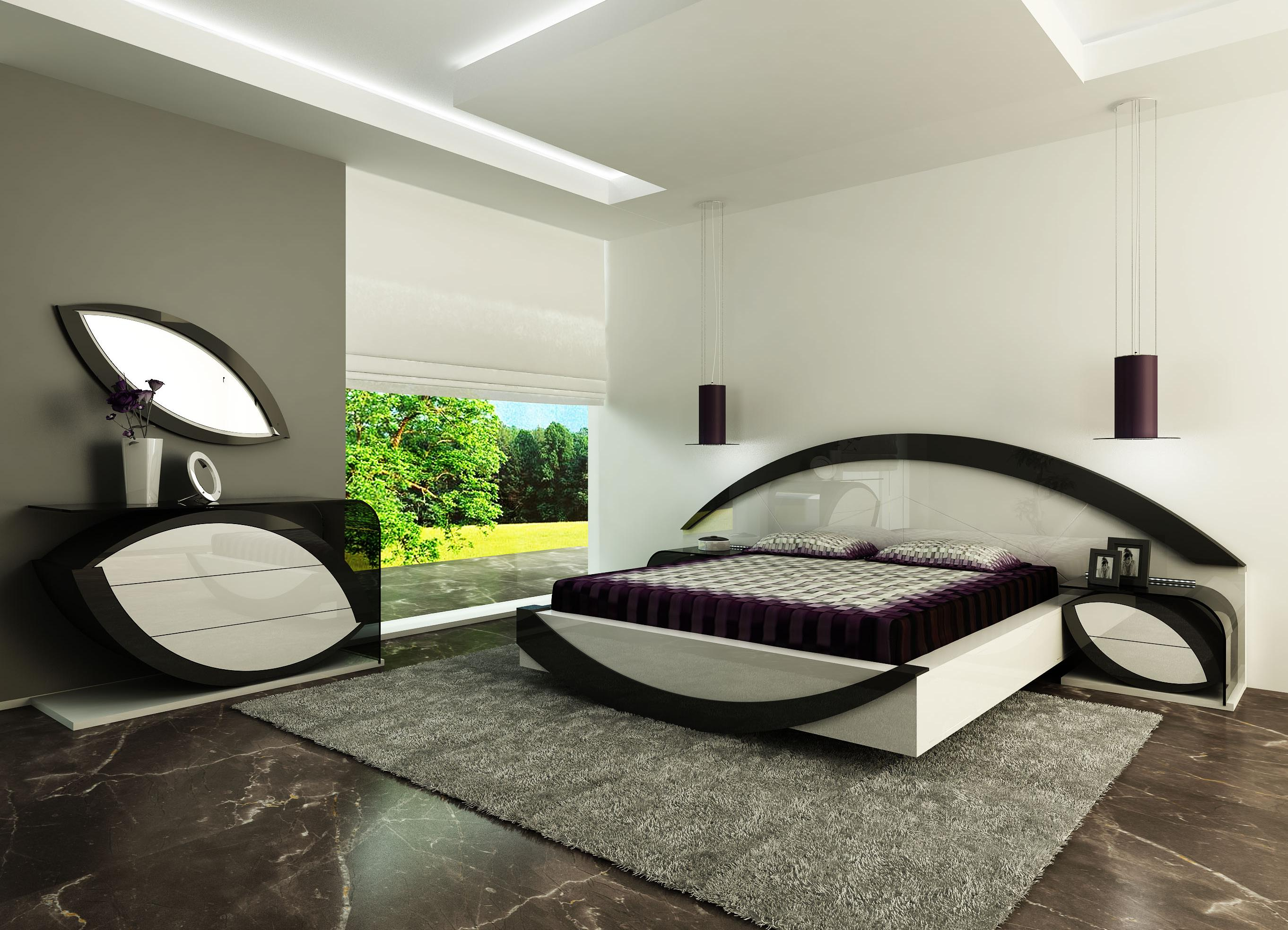 bedroom sets modern